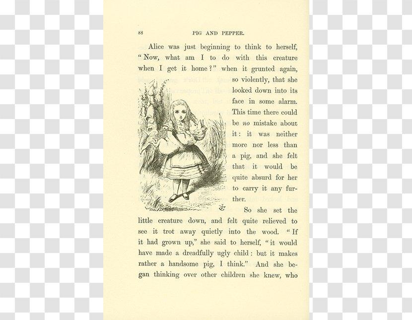 Alice S Adventures In Wonderland Drawing Illustration Paper Flower Alice Alice S Wonderland Transparent Png