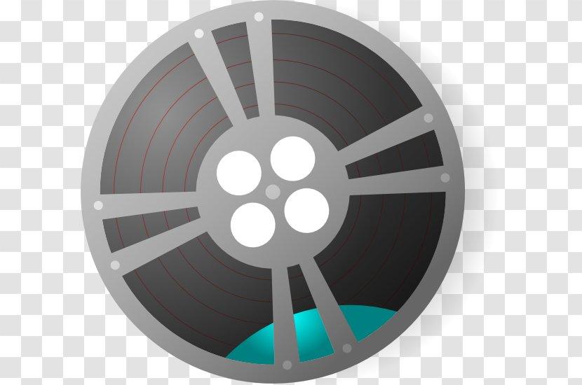 Film Reel Cinema Clip Art - Wheel - Trial Transparent PNG