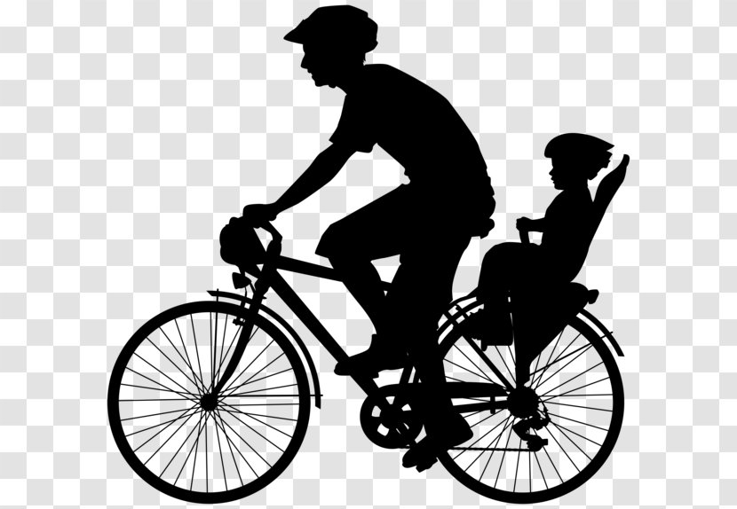 Bicycle Pedals Cycling Wheels Clip Art Black And White Transparent Png