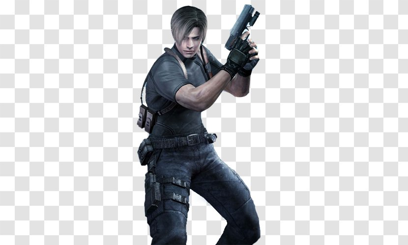 Resident Evil 4 Leon S Kennedy Chris Redfield Outbreak File 2 S Transparent Png