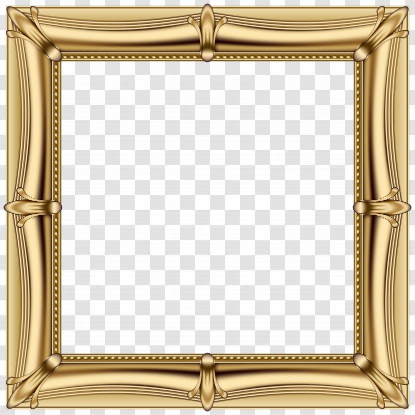 Picture Frames Gold Clip Art Mirror Frame Transparent Png