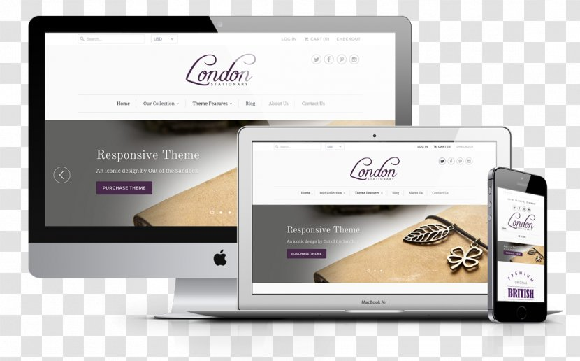 Website Development Responsive Web Design Developer Paris London Transparent Png