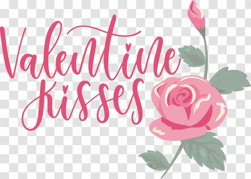 Valentine Kisses Valentine Valentines Transparent PNG