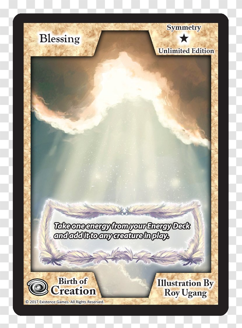 Collectible Card Game Playing Font - Text - Exodus Transparent PNG