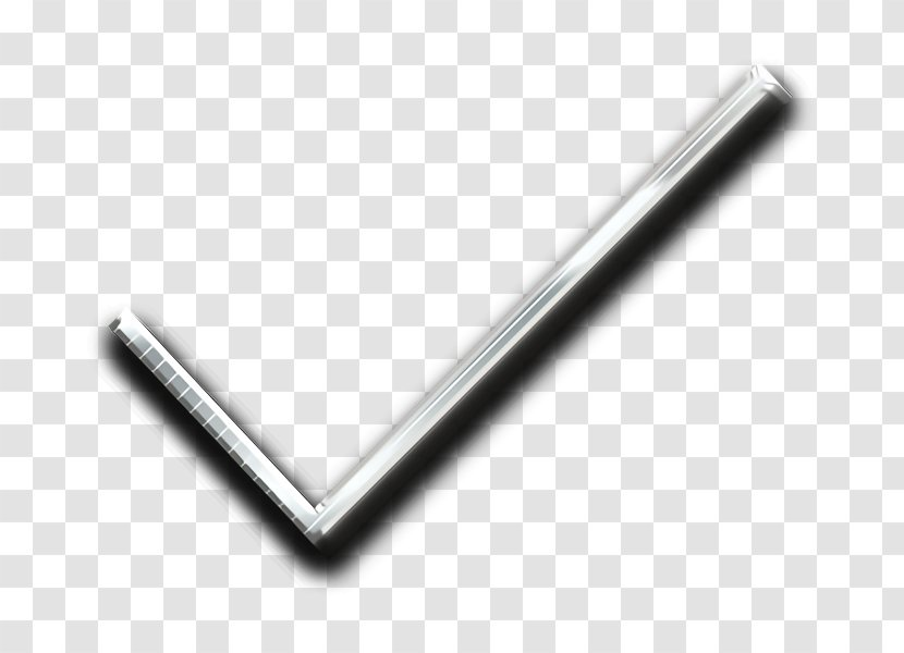Check Icon Mark - Metal Transparent PNG