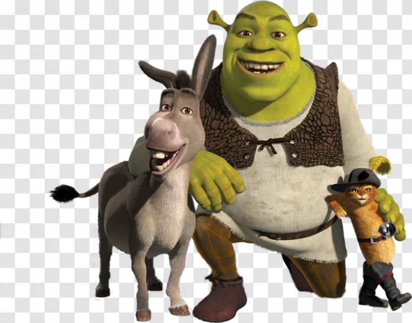 Shrek 2 Donkey Puss In Boots Princess Fiona Stuffed Toy Transparent Png