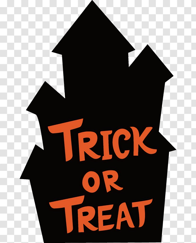 Haunted House Halloween - Logo Text Transparent PNG
