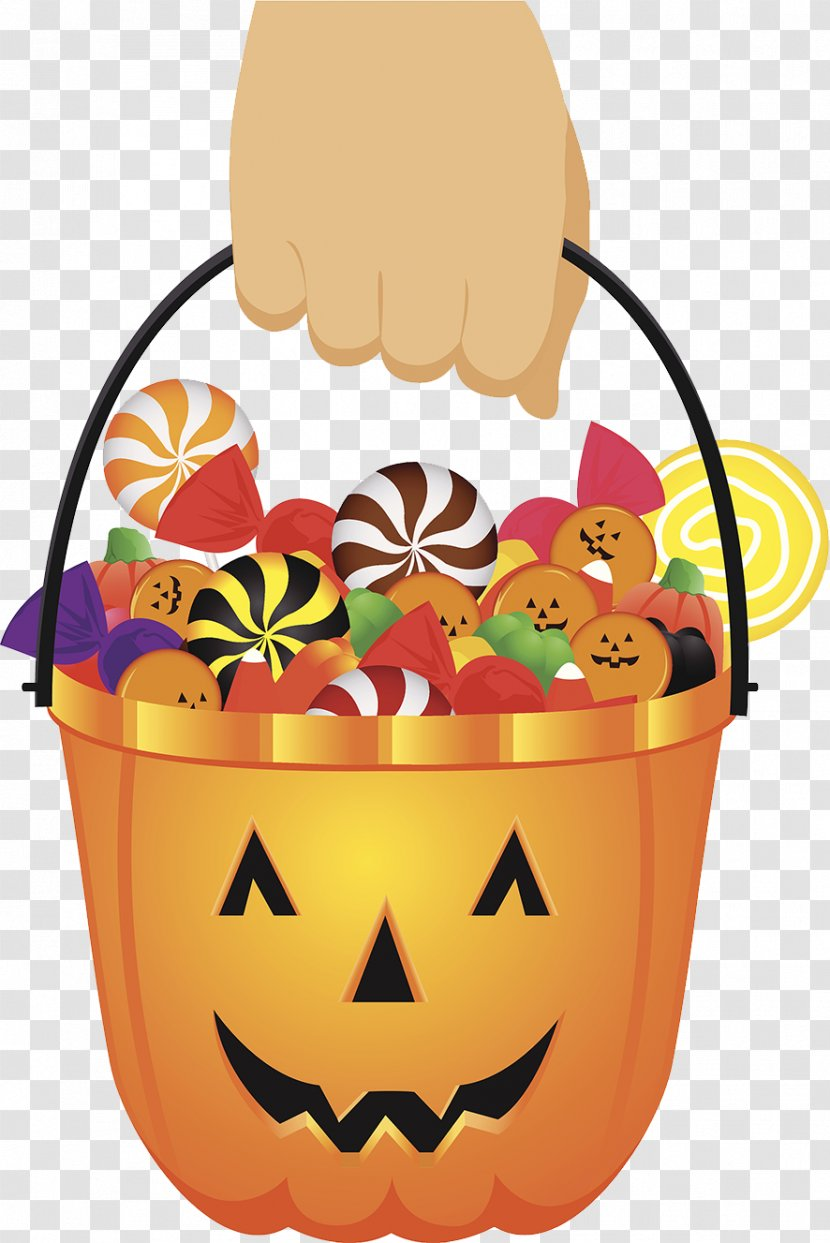 Halloween Candy Party - Basket Transparent PNG