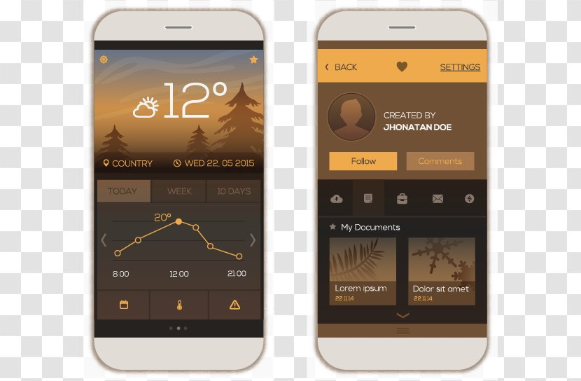 Mobile Phone Android Web Design User Interface Models Transparent Png