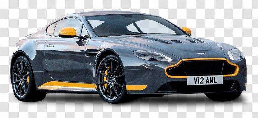 2017 Aston Martin V12 Vantage S Car V8 Coupe Gt8 Grey Transparent Png