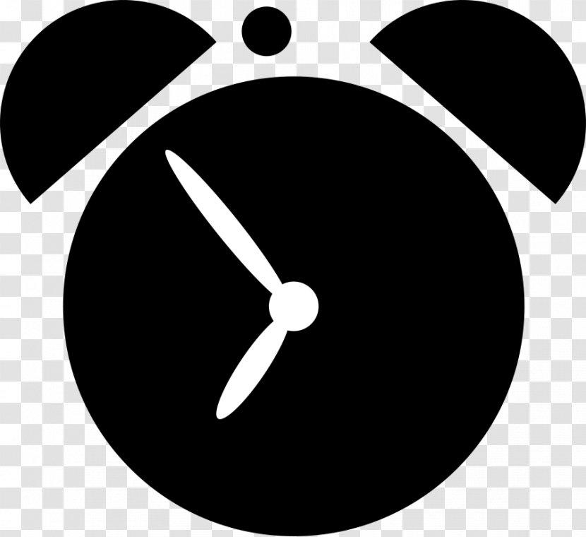 Clipart: alarm clocks   Hand Drawn Alarm Clock Ringing Black White Icon  Logo Retro — Stock Vector © Sudowoodo #221231776