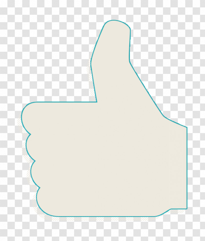 Like Icon Thumb Up Black Sign Icon Education Icon Transparent PNG