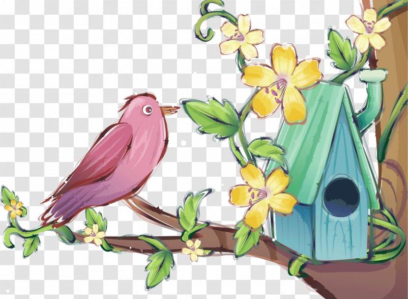 Bird Flower Tree Nest Transparent Png 26,780 nest cartoons on gograph. pnghut com
