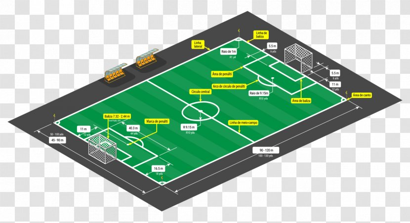 Football Pitch American Sports Vector Graphics Transparent PNG