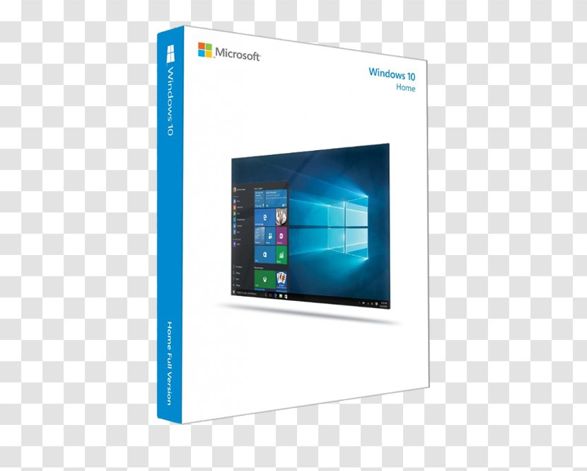 Microsoft Windows 10 Pro Computer Software Operating Systems 64-bit  Computing - System Builder Transparent PNG
