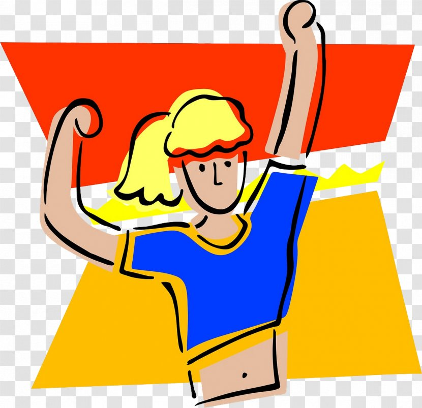Physical Fitness Exercise Free Content Clip Art Thumbnail Cartoon Movement Running Women Transparent Png