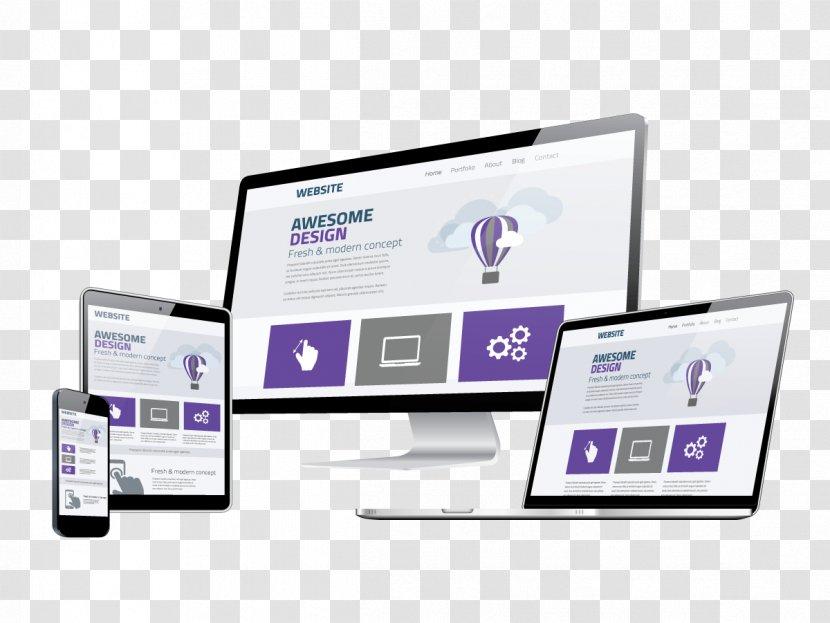 Website Development Digital Marketing Responsive Web Design World Wide - Computer Monitor Accessory Transparent PNG