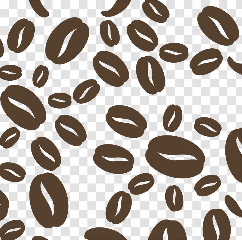Coffee Bean Cafe Caryopsis Cartoon Brown Beans Transparent Png