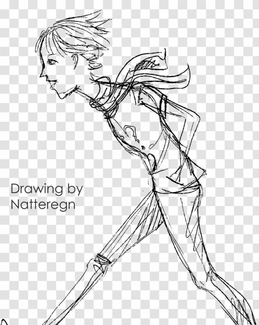 Line Art Figure Drawing Cartoon Sketch Fashion Design Thin Boy Transparent Png