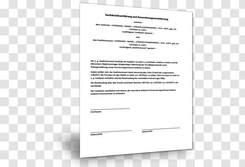 Vorvertrag Hauskauf Muster Musterix 4