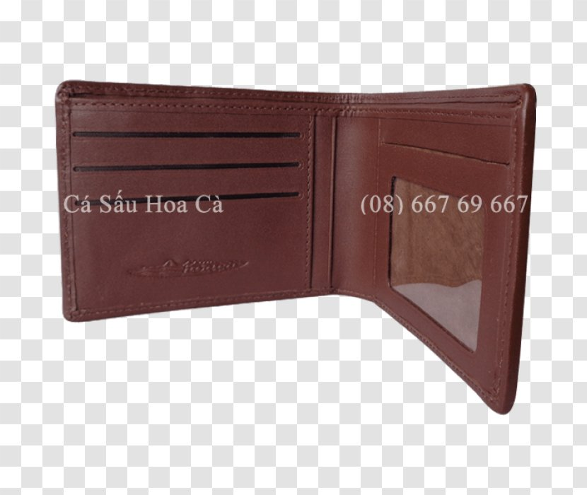 Wallet Leather - Brown Transparent PNG