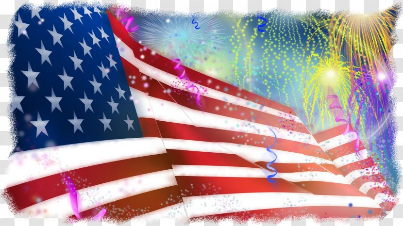4th Of July Fireworks - Independence Day - Memorial Veterans Transparent PNG