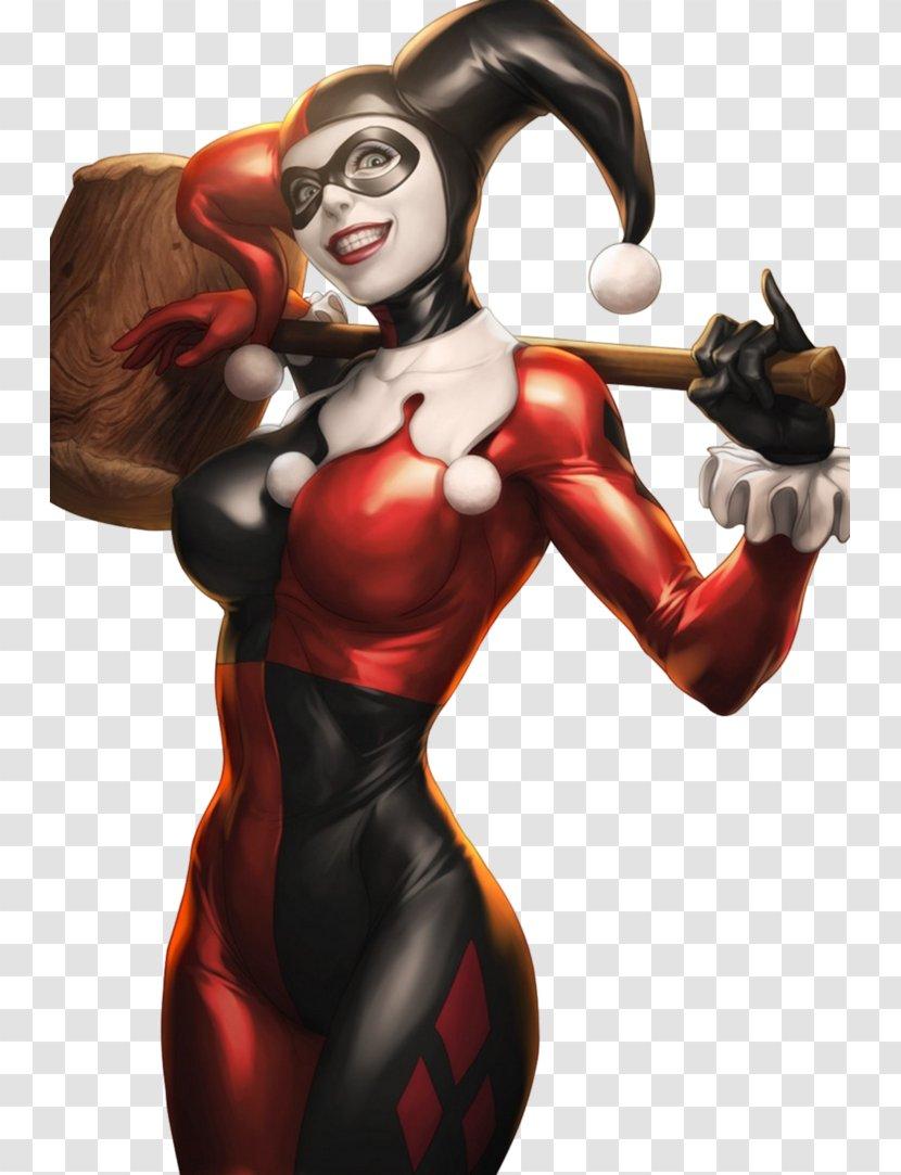 Harley Quinn Joker Batman Poison Ivy Comics Fan Art Clown Transparent Png