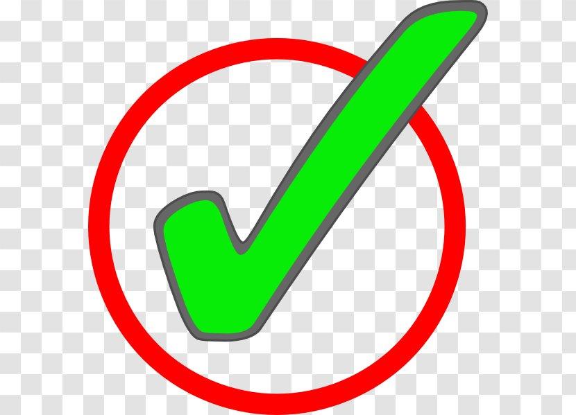 Check Mark Clip Art - Green Circle Transparent PNG