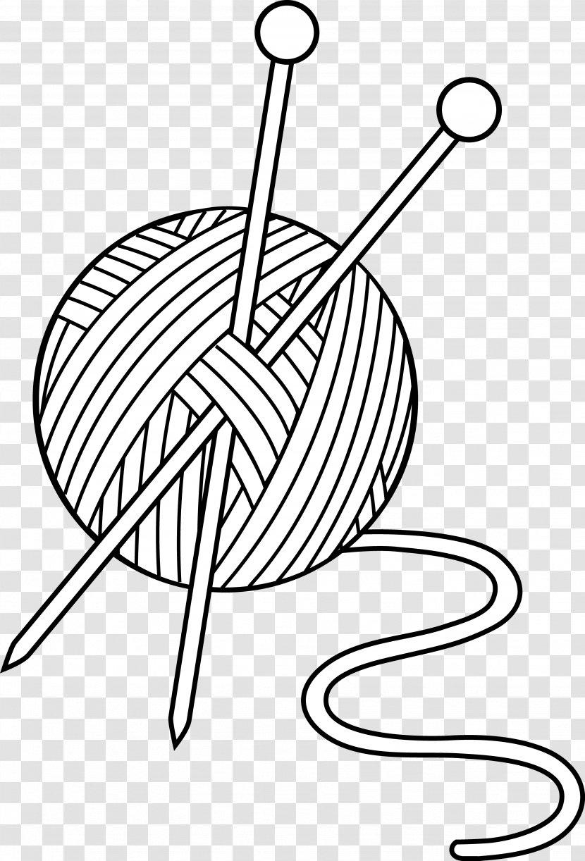 Yarn Wool Knitting Clip Art Drawing Gold Cliparts Transparent Png