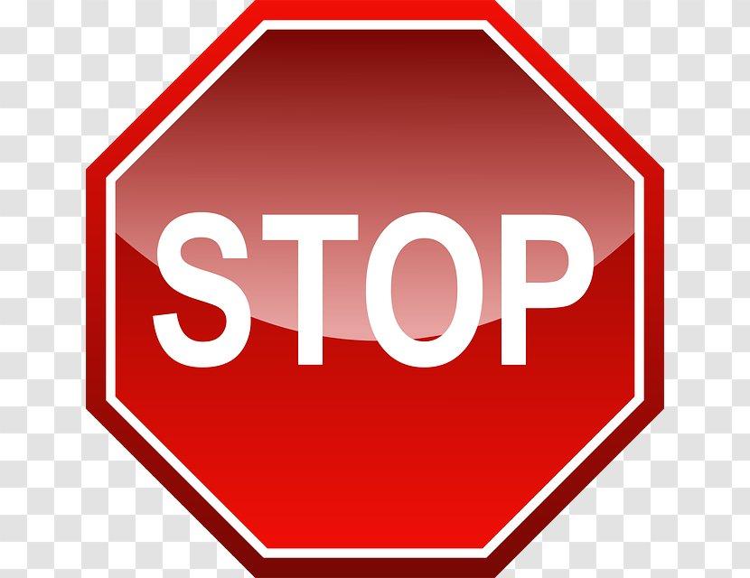 Stop Sign Traffic Clip Art - Format Images Of Transparent PNG