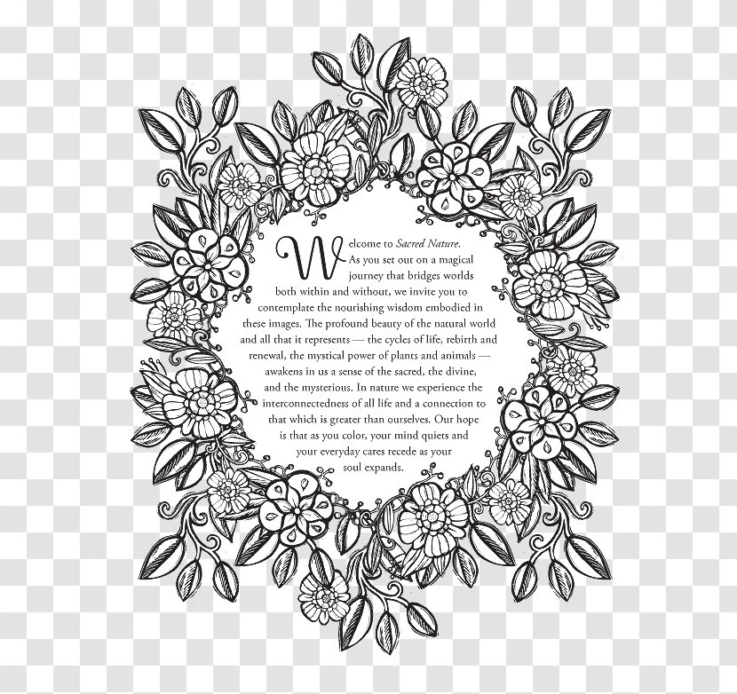 The Nature Coloring Book Royalty-free Stock Photography Vector Graphics -  Flora Transparent PNG