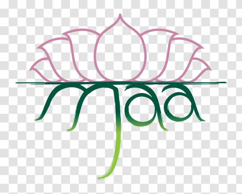 Maa Yoga Studio Logo Graphic Design Artwork Transparent Png