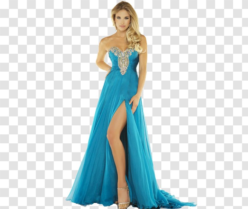 Evening Gown Prom Cocktail Dress - Clothing Transparent PNG