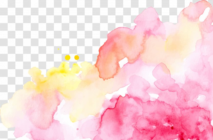 Desktop Wallpaper Watercolor Painting Art Blossom Transparent Png