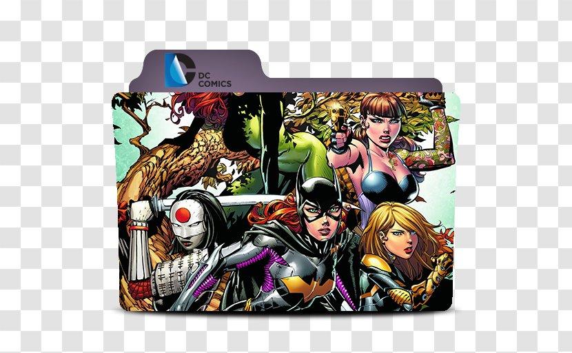 Black Canary Birds Of Prey Huntress Batgirl Harley Quinn Comic Book Transparent Png