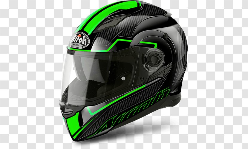 Motorcycle Helmets AIROH Visor - White Transparent PNG
