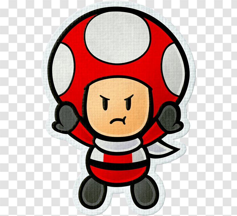 Paper Mario: Sticker Star Color Splash Toad Super Mario Transparent PNG