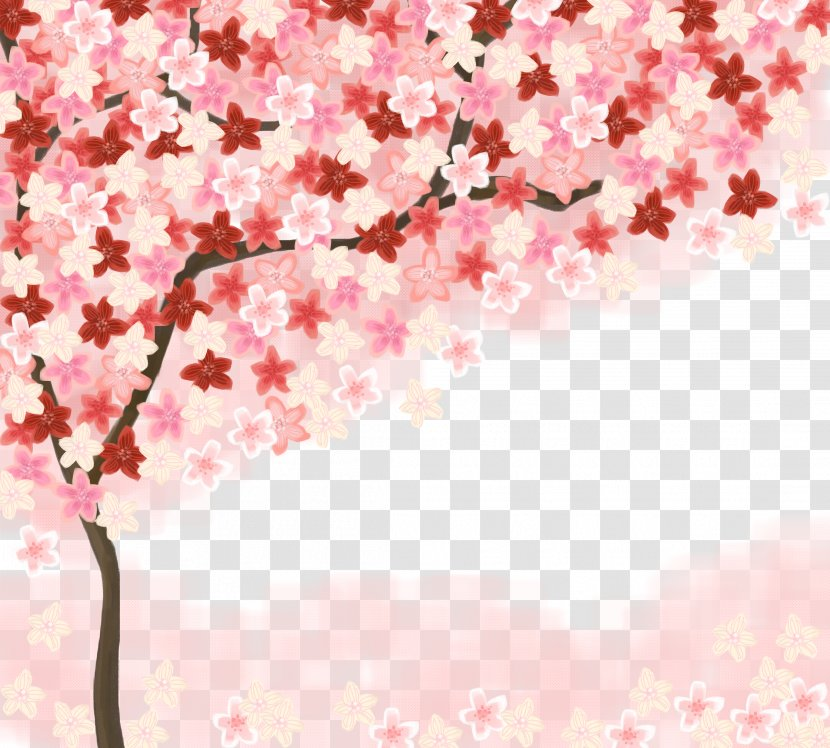21+ Cherry Blossoms Wallpaper Drawing Pictures