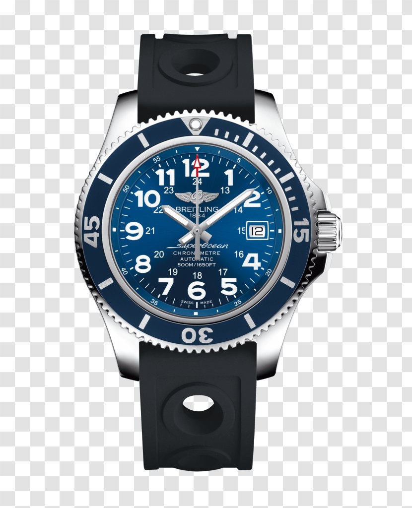 Superocean Chronograph Chronometer Watch Breitling SA - Sa - I Pad Transparent PNG