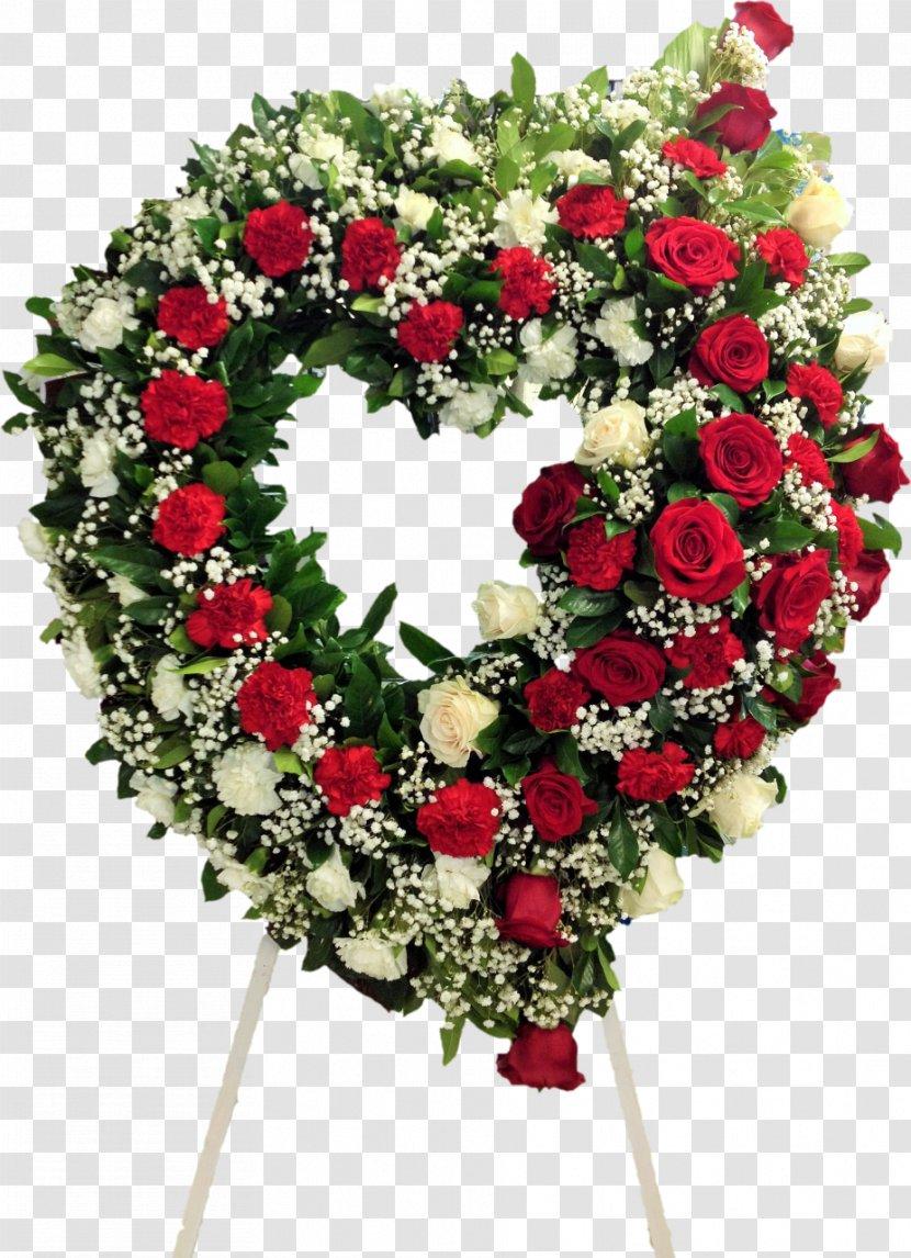 Wreath Cut Flowers Floristry Flower Bouquet - Blush Floral Transparent PNG