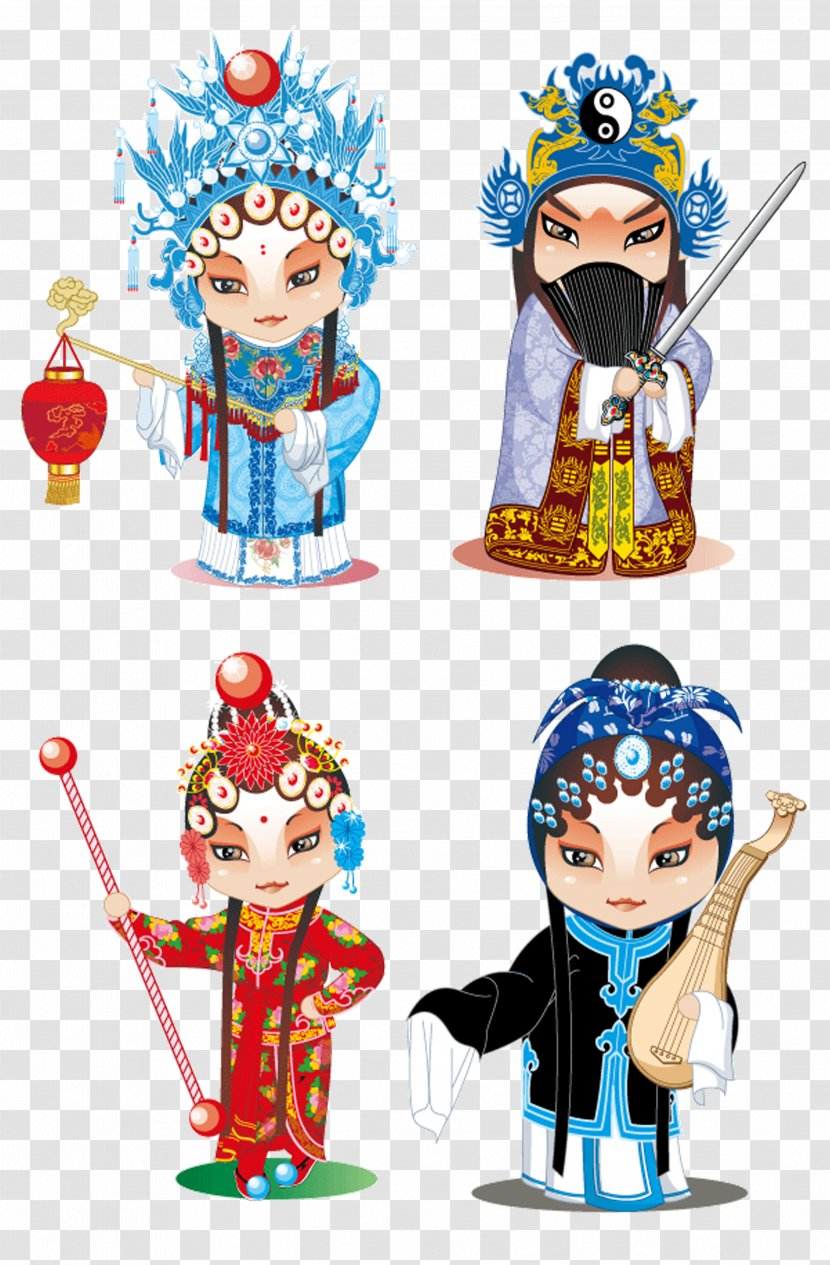 U7d05u5a18 Peking Opera Cartoon U82b1u65e6 Drama Actress Transparent Png