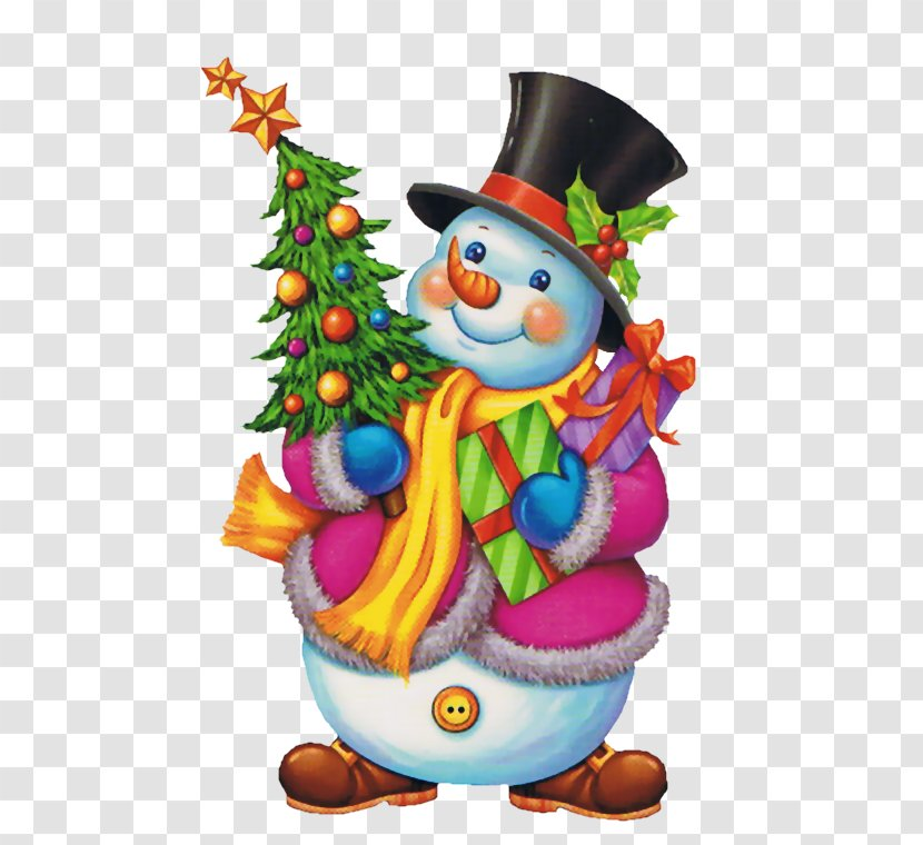 New Year Christmas Snowman Holiday Animaatio - Card Transparent PNG