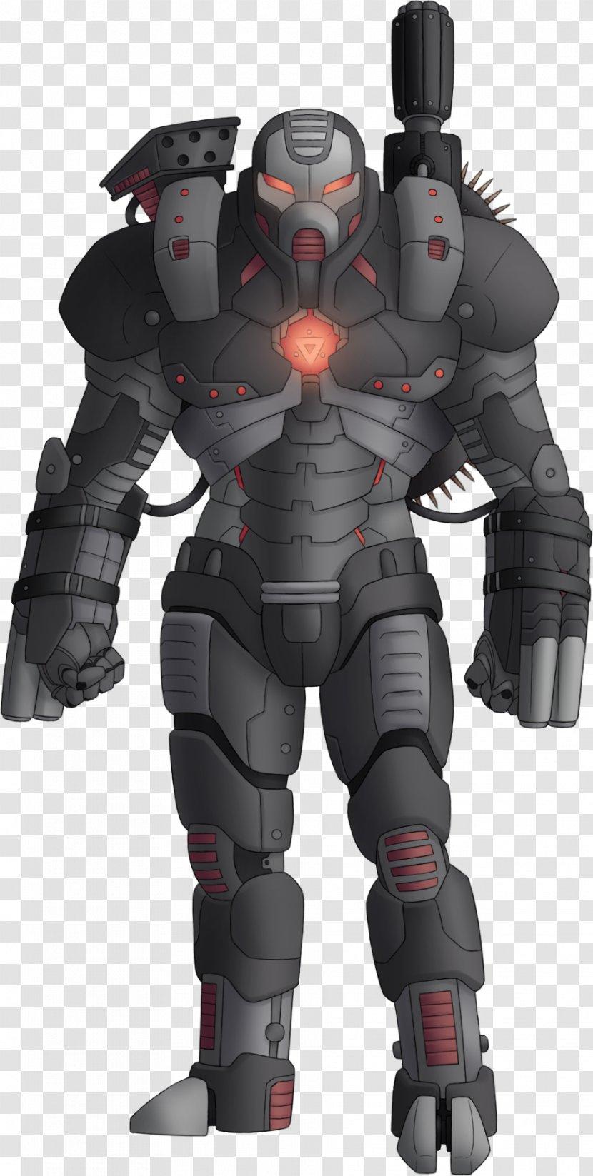 War Machine Iron Man Marvel Comics Art Cinematic Universe Transparent PNG