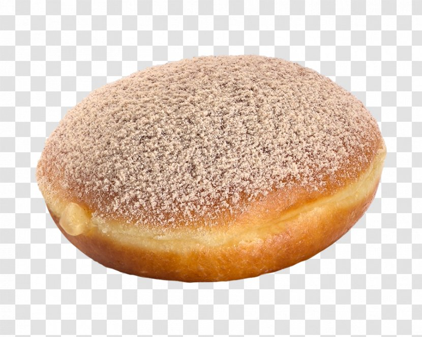 Donuts Berliner Sufganiyah Apple Pie Bun - Cream Transparent PNG