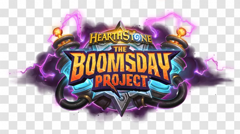 The Boomsday Project Blizzard Entertainment Expansion Pack Collectible Card Game Video Brand Hearthstone Logo Transparent Png The hearthstone team also announced the game's next expansion, and it's a doozy. pnghut
