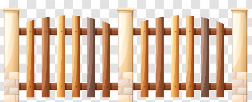 Fence Gate Illustration - Wooden Cliparts Transparent PNG
