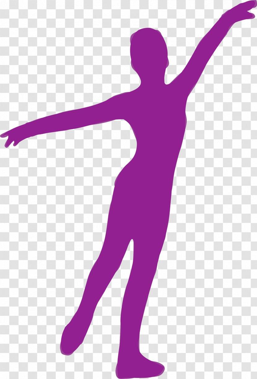 Silhouette Dance Clip Art Purple Transparent Png