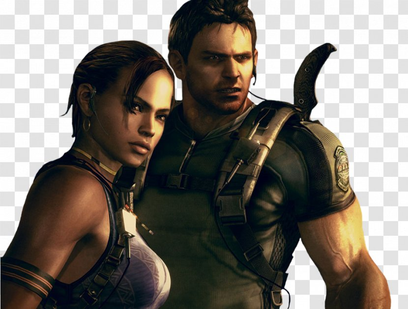 chris redfield resident evil 5 png