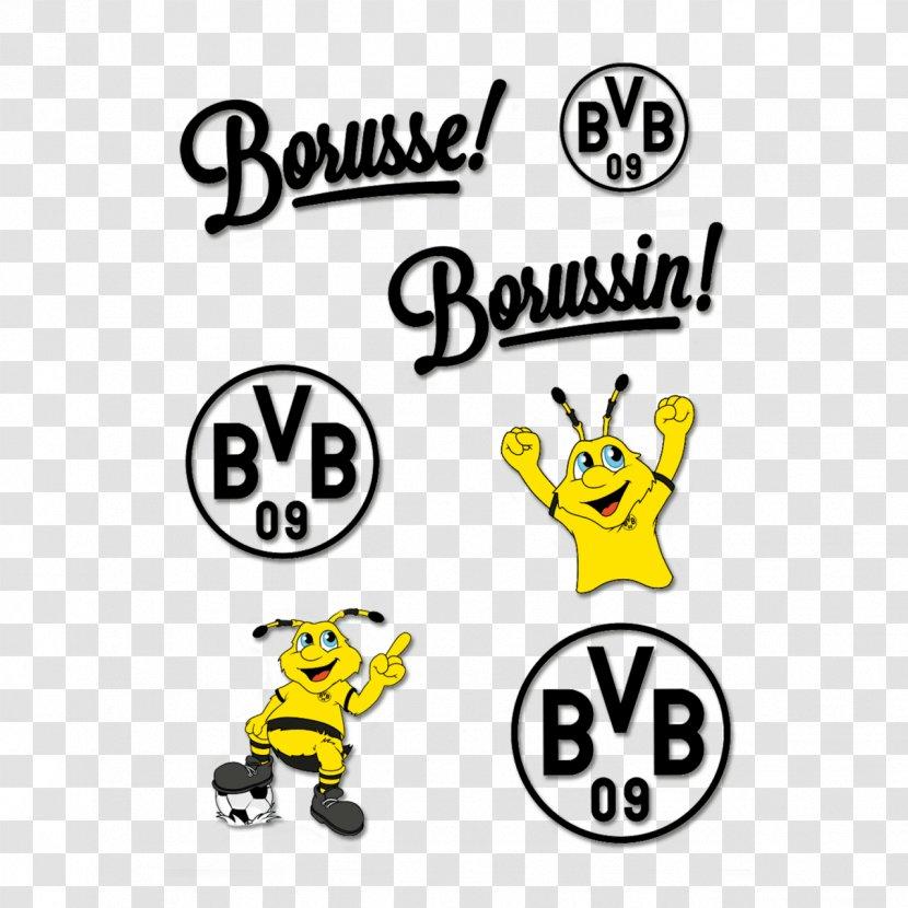 Borussia Dortmund Sticker Text Foil Bianca Heinicke Bvb Logo Transparent Png
