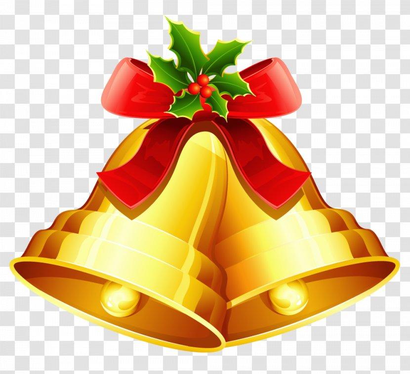 Christmas Jingle Bells Clip Art Fruit Bell Image Transparent Png